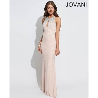 Jersey Gown with Keyhole