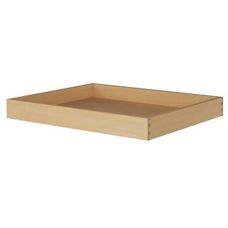 """Sunny Wood OLA30RT Rollout Tray with Hardware for 30"""" Overlay Door Style Base"""