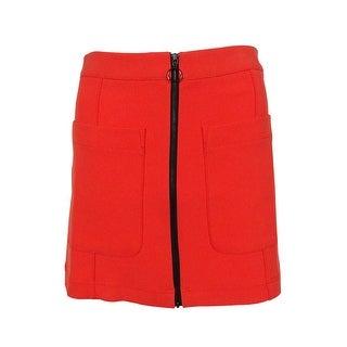 RACHEL Rachel Roy Women's Zipper Detail Pocket Mini Skirt - 0