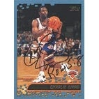 Charlie Ward New York Knicks 2001 Topps Autographed Card This item comes with a certificate of aut
