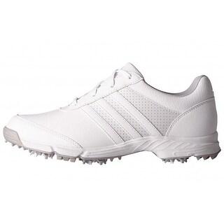 New Adidas Women's Tech Response White/White/Matte Silver Golf Shoes Q44708