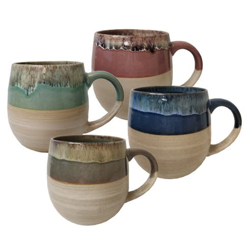 26oz Assorted Tuscon Mugs (Set of 4)