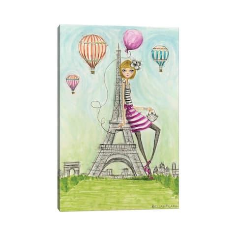 """iCanvas """"Paris"""" by Bella Pilar Canvas Print"""