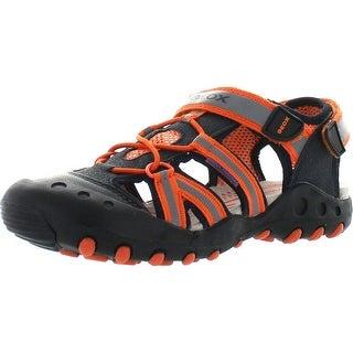 Geox Boys Jr Sandal Kyle Water Friendly Protective Toe Fashion Sandals