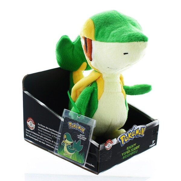 "Pokemon Trainer's Choice 8"" Plush: Snivy"