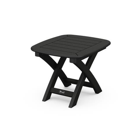 """Trex Outdoor Furniture Yacht Club 21"""" x 18"""" Side Table"""