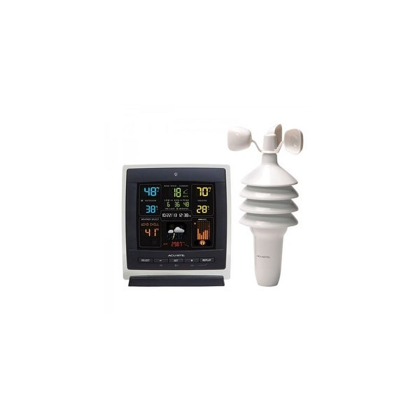 AcuRite Pro Color Dark Theme Weather Station Weather Station