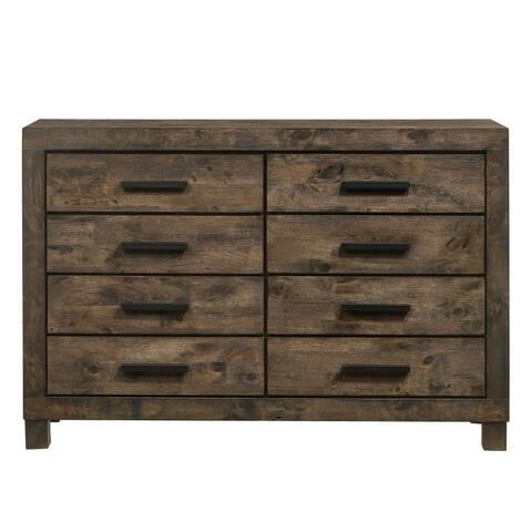 Blenden Rustic Golden Brown 8-drawer Dresser