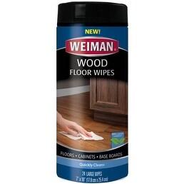 24 Wipes/Pkg - Weiman Wood Floor Wipes