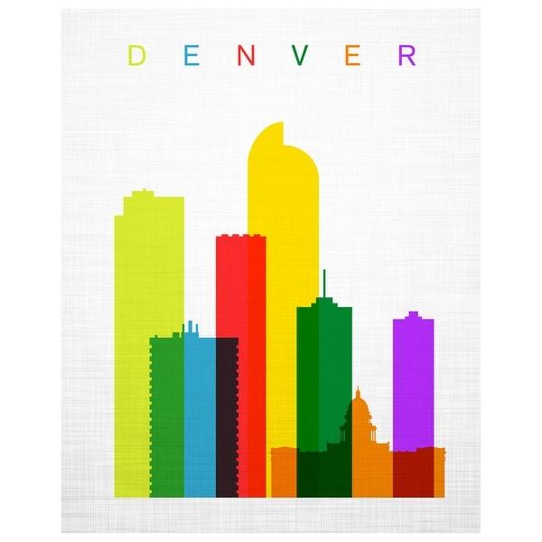 Denver GlassCity Matte Poster 30x24