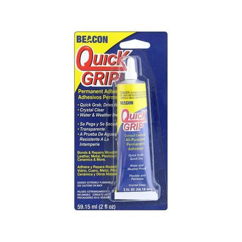 Qg2oztbc12 beacon quick grip glue 2oz carded