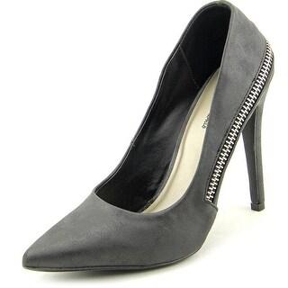 Michael Antonio Laney Women  Pointed Toe Synthetic Black Heels