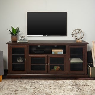 Link to Beaverhead 70-inch Espresso Highboy TV Stand Console Similar Items in Living Room Furniture