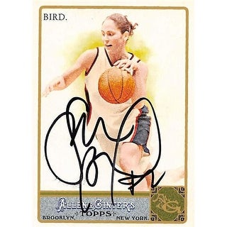 Sue Bird Autographed Basketball Card 2011 Topps Allen & Ginters No