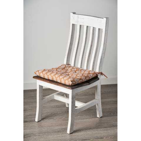 Botanical Leaf Chair Cushion