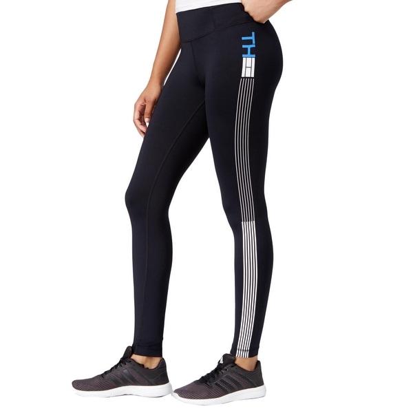 a196858cc Shop Tommy Hilfiger Womens Athletic Leggings Reinforced Gusset ...
