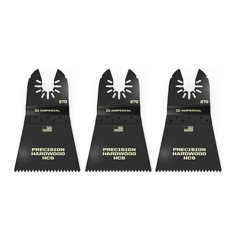 "Imperial Blades IBOA270-3 One-Fit Japanese Precision HCS Blade, 2-1/2"", 3-Pack"