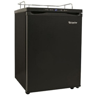 EdgeStar BR3001 24 Inch Wide Kegerator Conversion Refrigerator for Full Size Kegs with Deep Chill Mode