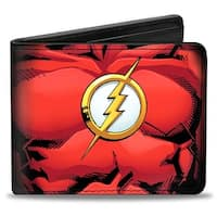 Flash Chest Logo Bi Fold Wallet One Size - One Size Fits most