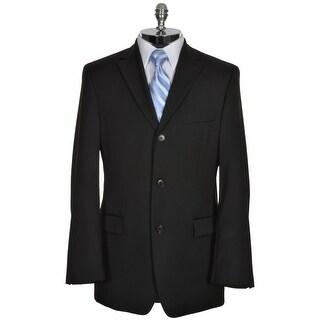HUGO BOSS Rossellini Mens Black Wool Sportcoat 38 R 38R Super 100's Blazer $595