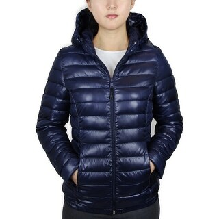 Ladies Puffer Jacket with Hood (LJKH-550)