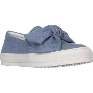 Nine West Onosha Slip-on Fashion Sneakers, Blue Denim