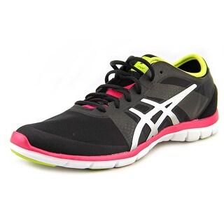 Asics Gel-Fit Nova Women Black/Silver/Hot Pink Cross Training Shoes
