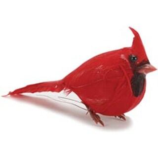 """Red Fat Cardinal - Mushroom Bird 3.5"""" 1/Pkg"""