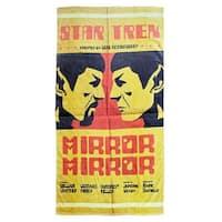 Star Trek Mirror Spock Beach Towel