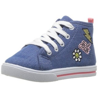 Carter's Kids' Girls' Ginger3 Novelty High-Top Casual Mary Jane Flat