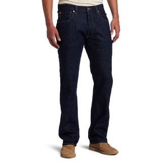 Levis Mens 501 Original Fit Button-Fly Jean, Rinse - 34X32