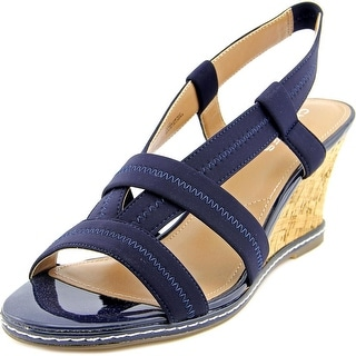 Charles By Charles David Hyper Women Open Toe Synthetic Wedge Sandal
