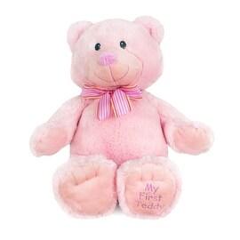 Russ Berrie My First Teddy Bear Pink