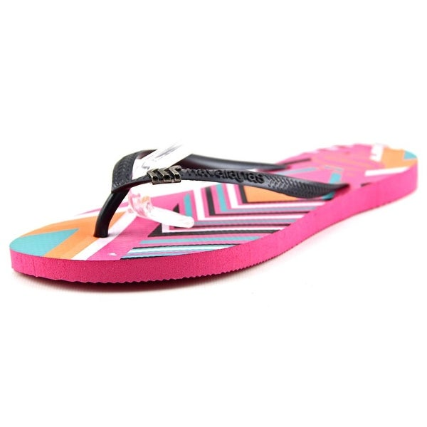 13297f806 Shop Havaianas Slim Women Shocking Pink Sandals - Free Shipping On ...