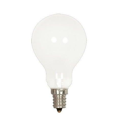 Satco S2743 Ceiling Fan Incandescent Light Bulb 60 Watts 120 Volt