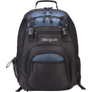 "Targus XL Laptop Backpack 17 Inch, Black-Blue XL Laptop Backpack 17"", Black/Blue"