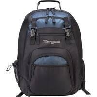 Targus XL Laptop Backpack 17  Inch, Black-Blue XL Laptop Backpack 17  Inch, Black/Blue