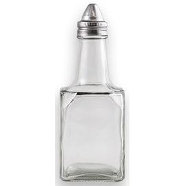 Anchor Hocking 97288 Vinegar & Oil Bottle With Stainless Steel Lid, 6 oz