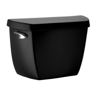Kohler K-4484-T Highline/Wellworth 1.1 gpf toilet tank with tank cover locks and left-hand trip lever