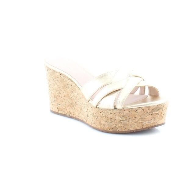 Kate Spade New York Talcott Women's Sandals & Flip Flops Gold Metallic