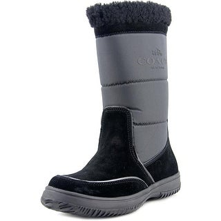Coach Sherman Round Toe Suede Winter Boot