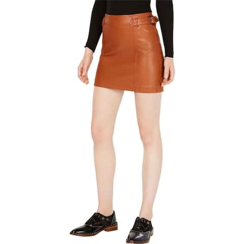 Free People Womens Charli Mini Skirt