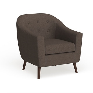 Link to Carson Carrington Lieksa Mid-century Modern Accent Chair Similar Items in Living Room Furniture Sets