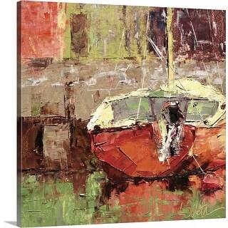 """Docked"" Canvas Wall Art"