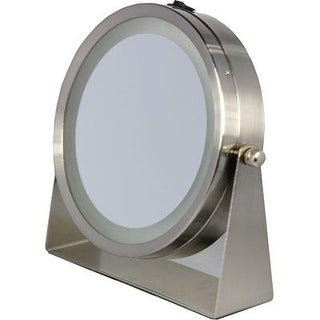 Floxite Home And Travel Mirror, 8 X Mag