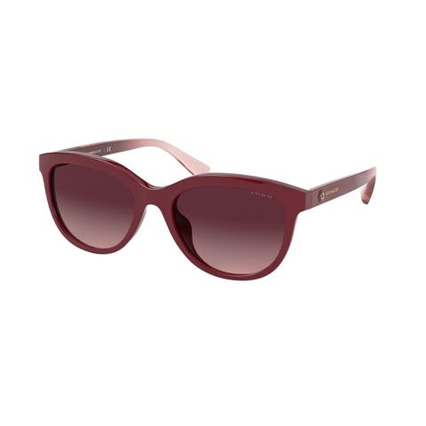 Coach HC8285U 50318H 56 Burgundy Woman Pillow Sunglasses