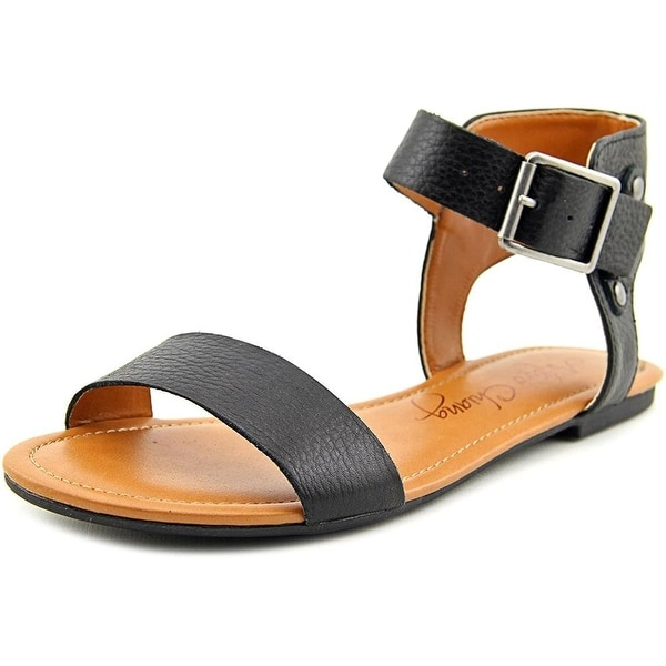 Arturo Chiang Womens Kassandra Leather Open Toe Casual Ankle Strap Sandals