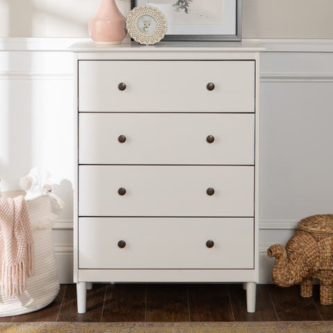 Taylor & Olive Bullrushes 4-drawer Solid Wood Chest