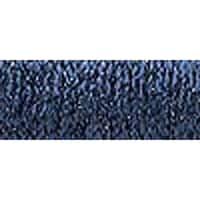 Hi Lustre Navy - Kreinik Very Fine Metallic Braid #4 12Yd