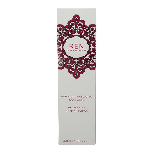 REN Skincare Moroccan Rose Otto Body Wash 6.8 Oz